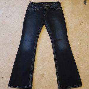 Women's Silver Brand Jeans